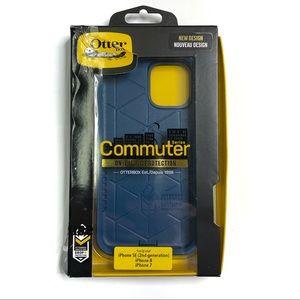 Otterbox Commuter Case Blue iPhone SE, 7, 8 NEW